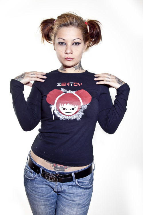 ZenToy Girl T-Shirt Long Sleeve